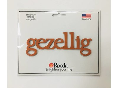 "Roeda Studio Magnet Gezellig Orange 5"""