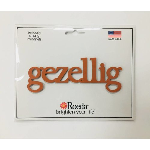 Roeda Studio Magnet Gezellig Orange 5""