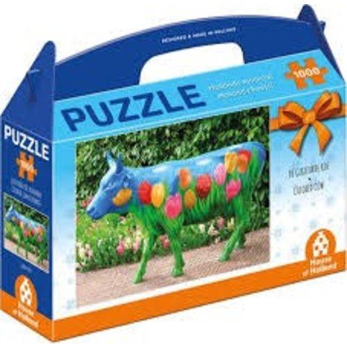 Games Puzzle Hollands Mooiste Colored Cow 1000 pieces