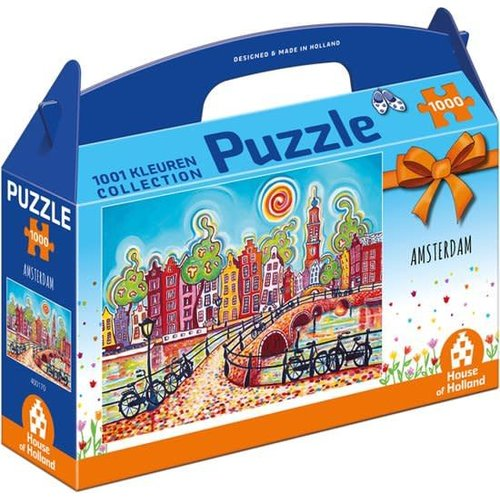 Games Puzzle 1001 Colors Amsterdam 1000 pieces