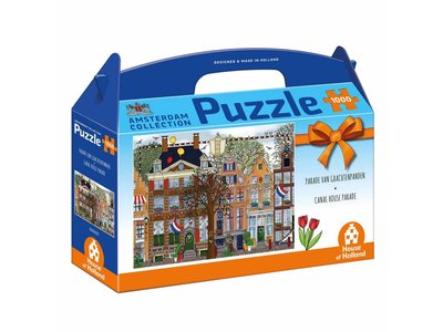 Games Puzzle Amsterdam Grachtenpanden 1000 pieces