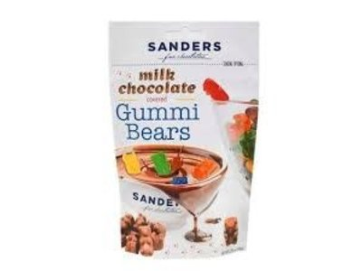 Sanders Sanders Milk Choc Gummi Bears 3.75 oz