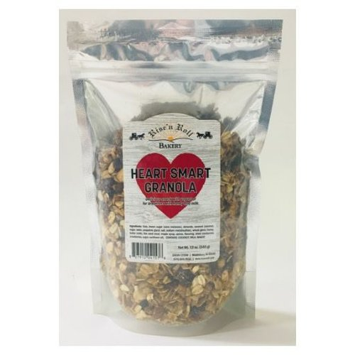 Rise N Roll Rise n Roll Heart Smart Granola 12 Bag