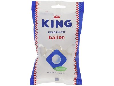 King King Peppermint Balls 4.6 oz Bag