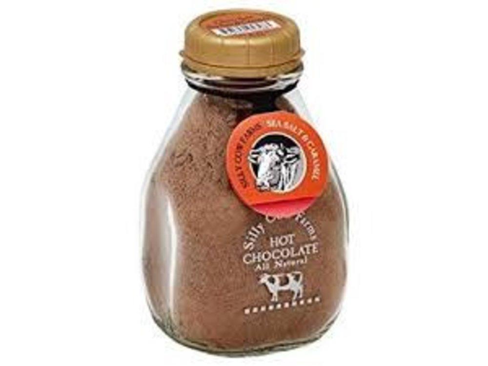 Silly Cow Silly Cow Hot Chocolate Sea Salt Caramel Mix Jar