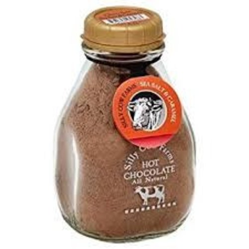 Silly Cow Silly Cow Hot Chocolate Sea Salt Caramel Mix Jar