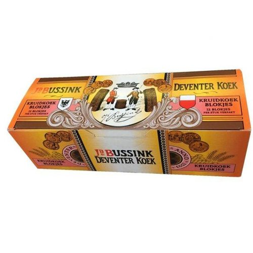 Bussink Spiced Honey Cake ind bars 8 oz (dated March 5 19)