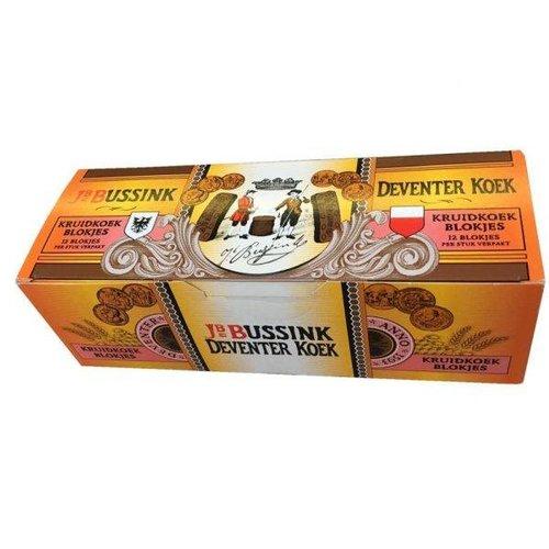 Bussink Spiced Honey Cake ind bars 8 oz (12 bars)