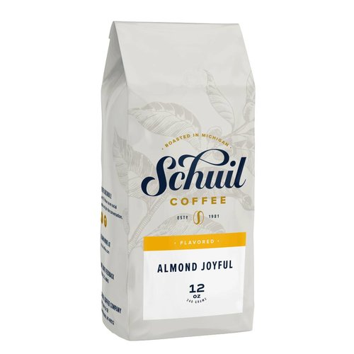 Schuil Schuil Almond Joyful Flavored Coffee 12oz