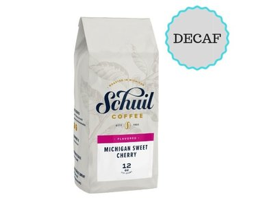 Schuil Schuil Michigan Sweet Cherry Flavored Coffee 12oz Decaf