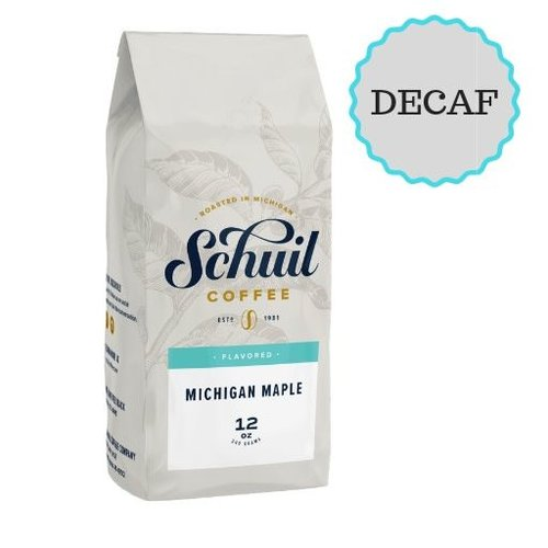 Schuil Schuil Michigan Maple 12oz Decaf Coffee