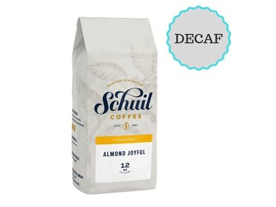 Schuil Schuil Almond Joyful DECAF Flavored Coffee 12oz