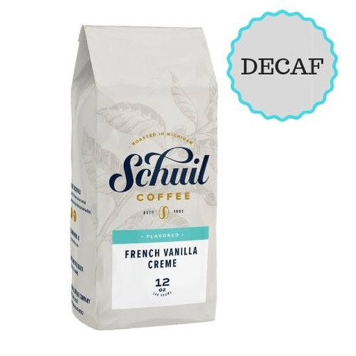 Schuil Schuil French Vanilla Dark Roast Coffee 12oz Decaf
