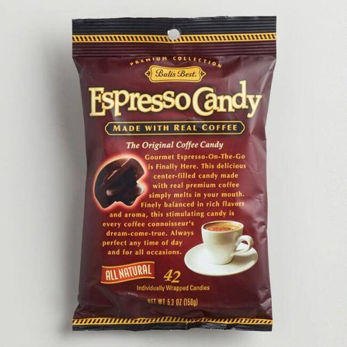 Balis Best Balis Best Espresso Candy 5.3oz Bag 12/cs