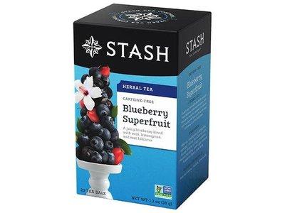 Stash Stash Blueberry Superfruite Tea 18 ct