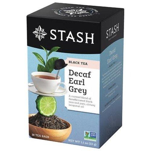 Stash Stash Decaf Earl Grey Tea 18 ct Box