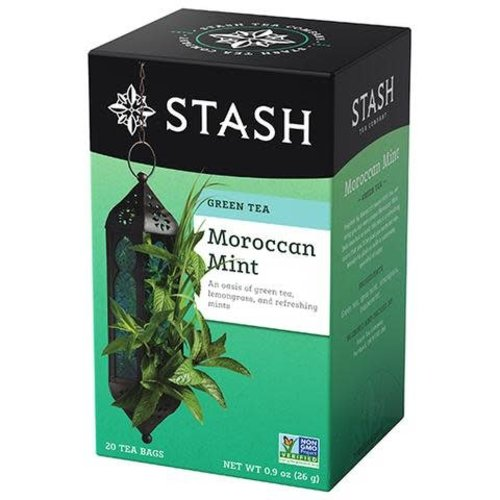 Stash Stash Moroccan Mint Green & White 20Ct