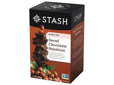 Stash Stash Chocolate Hazelnut Decaf Tea 18 ct Box
