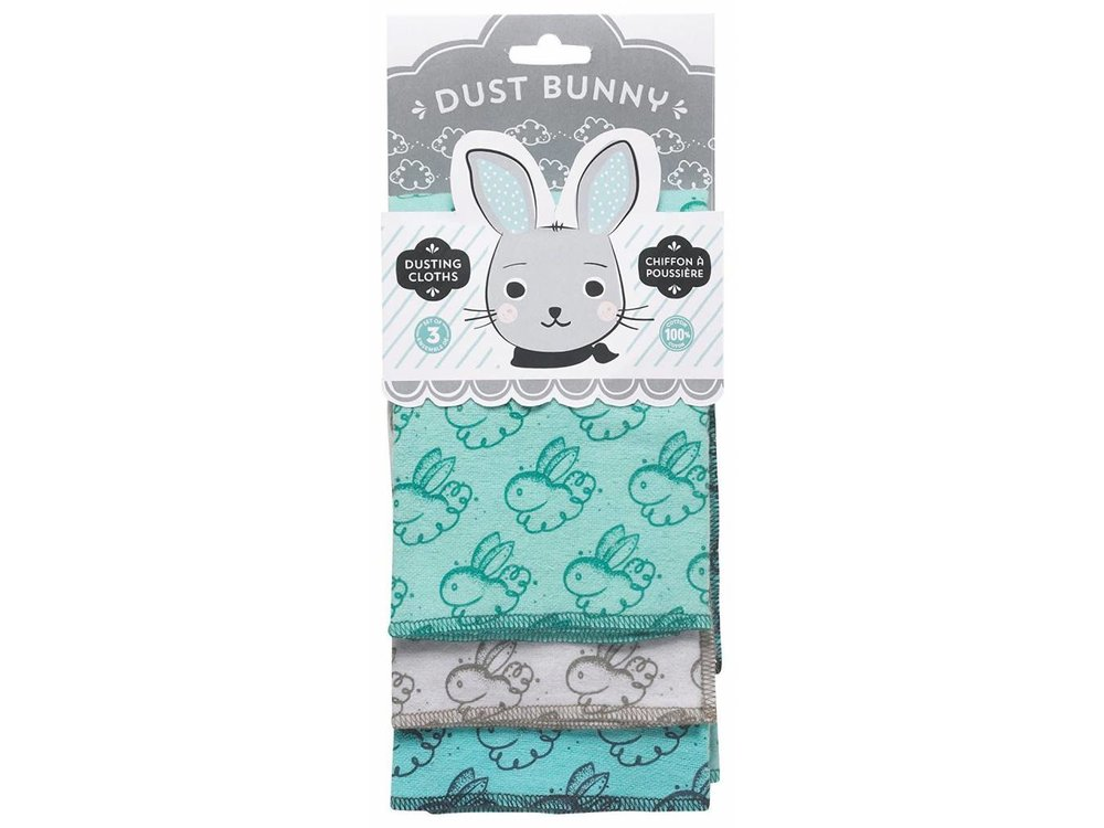 Dust Bunny Dusting Cloth Set/3