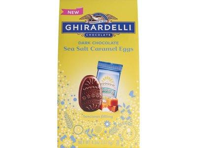 Ghirardelli Ghirardelli Dark Chocolate Seasalt Caramel Eggs Bag