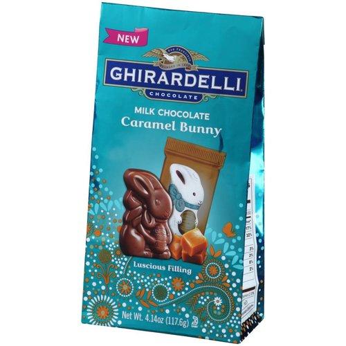 Ghirardelli Ghirardelli Milk Choc Caramel Bunny Bag 4.14oz