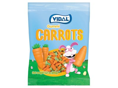 Vidal Vidal Gummi Carrots 4.5oz