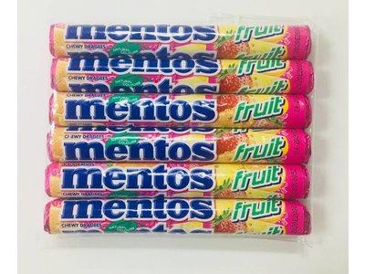 Van Melle Mentos Fruit 6 roll pack