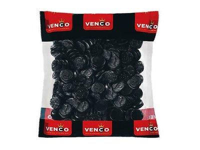 Venco Venco Licorice Coins 2.2 Lb Kilo Bag