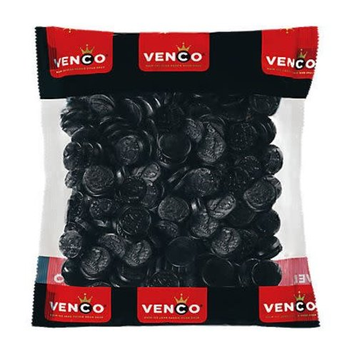 Venco Venco Licorice Coins 2.2 Lb Bag - Kilo