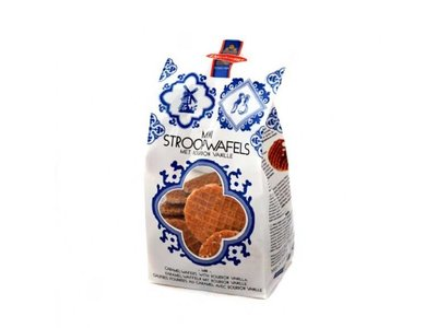 Daelmans Daelmans Caramel Mini Wafers Cello 7 Oz bag
