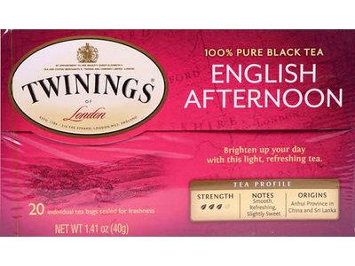 Twinings Twinings English Afternoon Tea 20ct