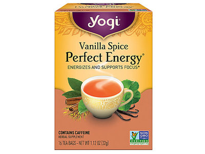 Yogi Yogi Teas Organic Vanilla Spice Energy