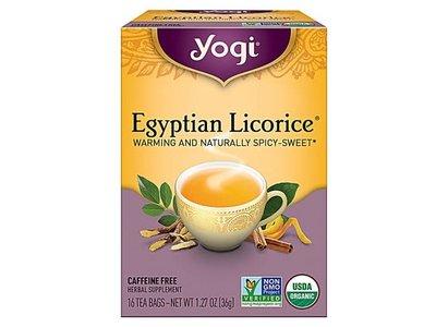 Yogi Yogi Teas Organic Egyptian Licorice