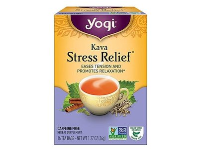 Yogi Yogi Teas Organic Kava Stress Relief