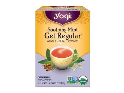Yogi Yogi Teas Organic Get Regular Mint