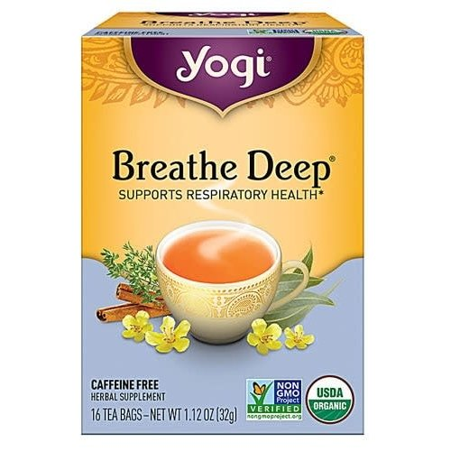 Yogi Yogi Teas Organic Breathe Deep