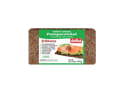 Feldkamp Delba Pumpernickel Bread 16 oz