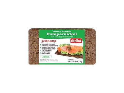 Feldkamp Delba Pumpernickel Bread 16oz 12/cs