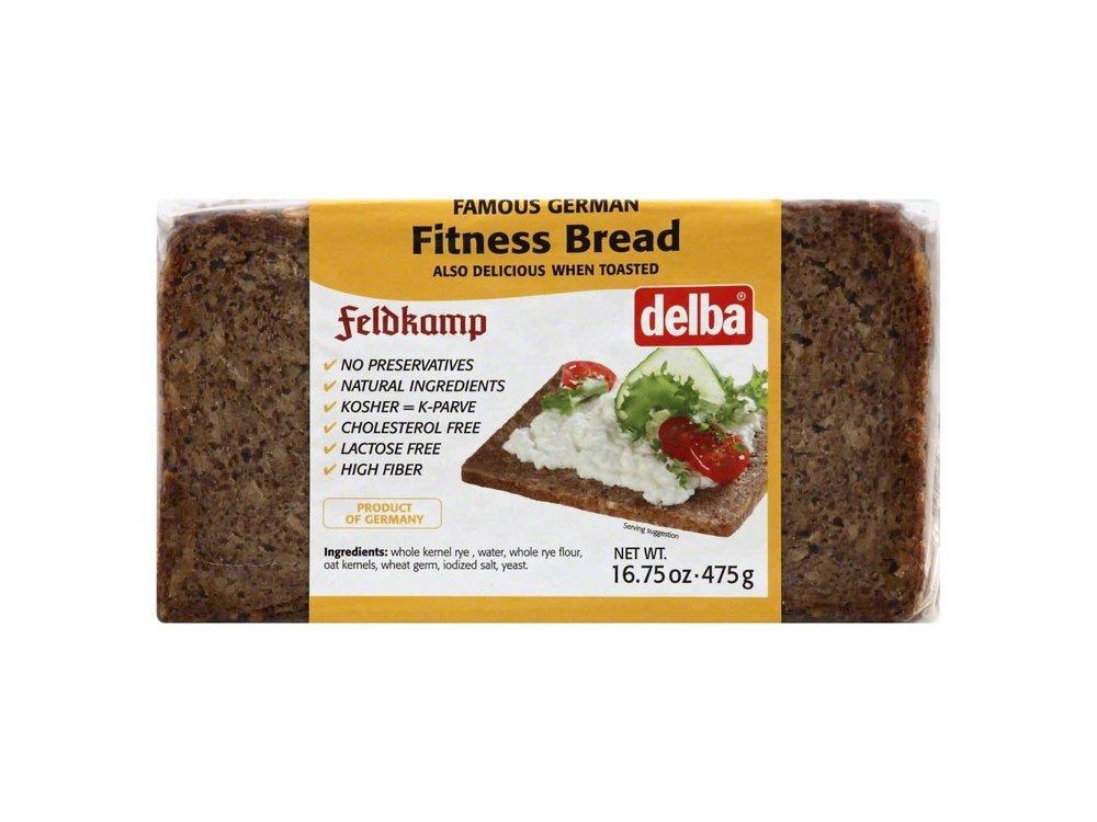 Delba Delba Fitness Bread 16oz 12/cs