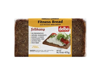 Delba Delba Fitness Bread 16oz 12/cs