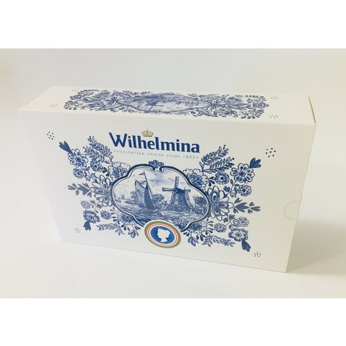 Wilhelmina Wilhelmina Peppermint 500g Delft Design Box