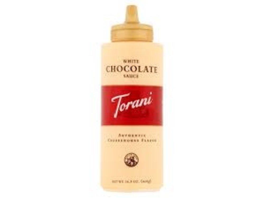 Torani Torani White Chocolate Sauce Squeeze Bottle 16.5 Oz