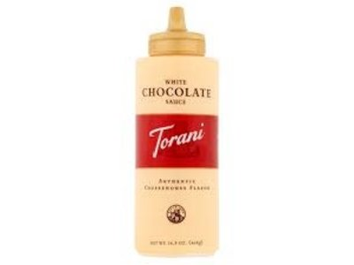 Torani Torani White Chocolate Sauce Squeeze Bottle 16.5 Oz