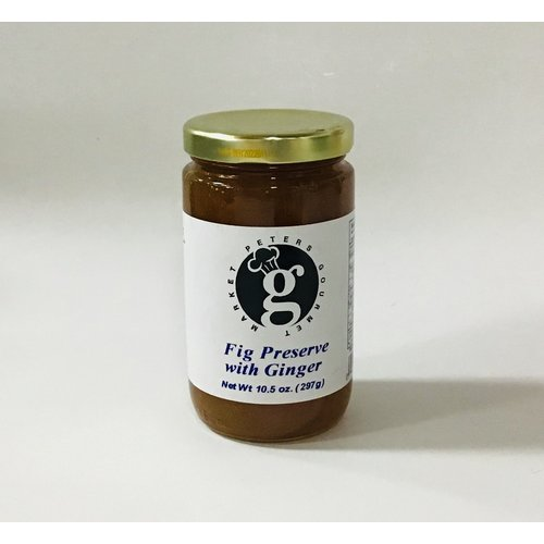 Peters Gourmet Foods Peters Fig with ginger preserves 10.5 oz
