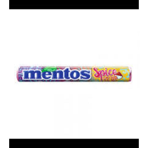 Van Melle Mentos Spice it up Rolls 3 flavors per roll