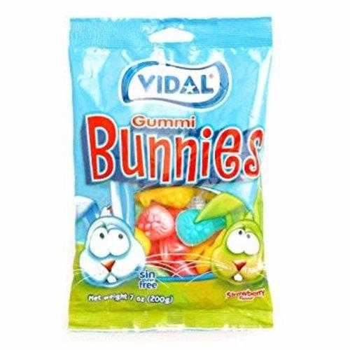 Vidal Vidal Gummi Bunnies 4.5oz