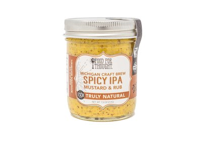 Food For Thought Food for Thought Spicy IPA Mustard - New Holland 7.5 oz