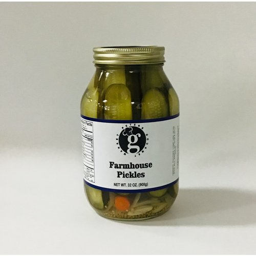 Peters Gourmet Foods Mild Farmhouse Style Pickles