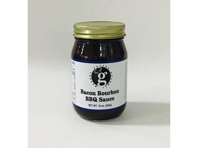 Peters Gourmet Foods PGM Bacon Bourbon BBQ Sauce 16 oz