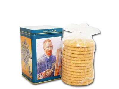 Van Gogh Tin  with Sugar Cookies 10 oz